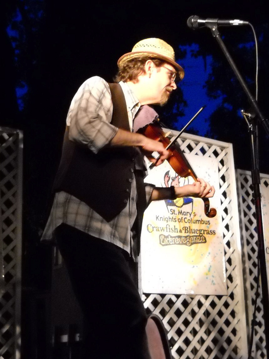 ... Tom Morley is one of the most visible violinists on the Gulf Coast.