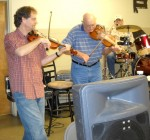 Twin Fiddling with Jim Brock