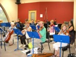 Tuscaloosa String Players Enjoy Some Fiddling